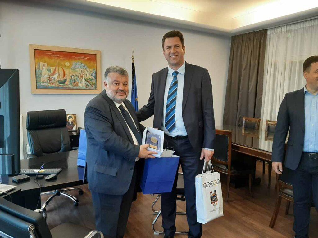 Επίσκεψη αντιπροσωπείας του Δήμου του Σάμπαντς στο Αργοστόλι (εικόνες)